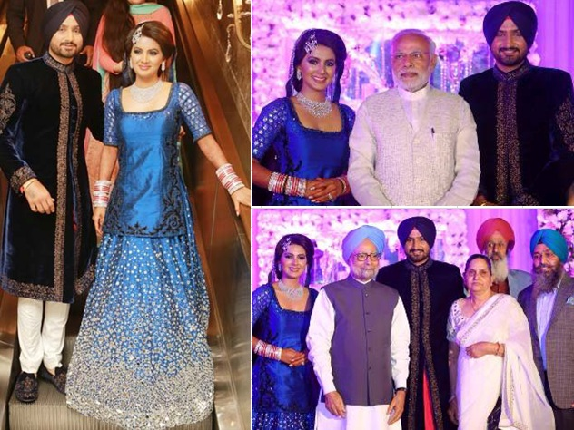 Harbhajans Wedding Reception