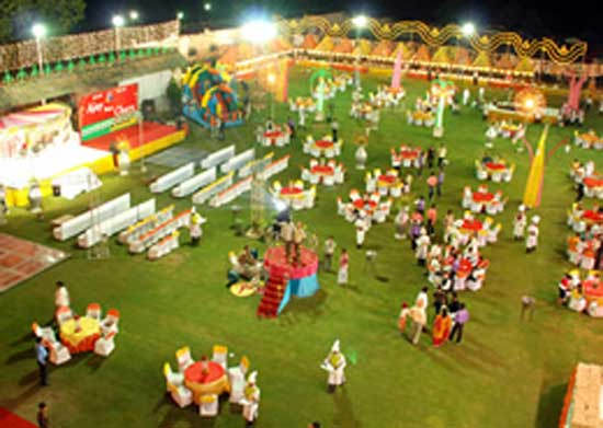 The Host Party Lawn